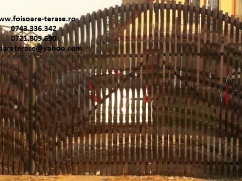 Garduri lemn masiv nr 1b