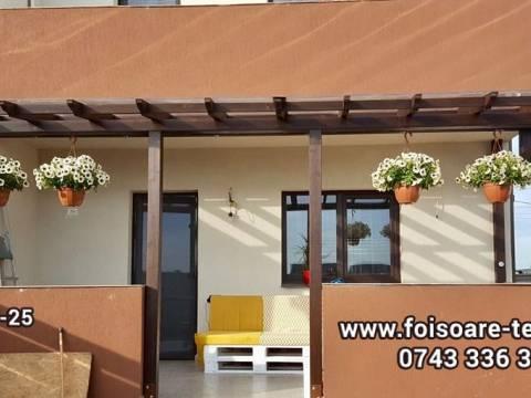 Terasa cu acoperis transparent 17-25