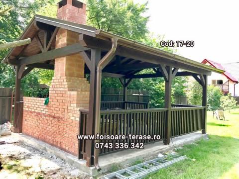 Foisor lemn 17-20