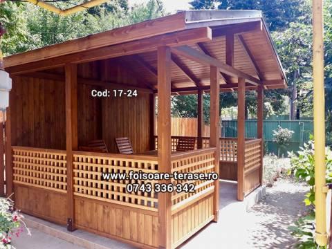 Foisor lemn 17-22