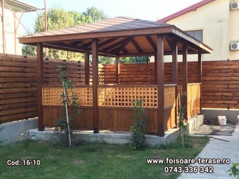 Foisor lemn 16-10