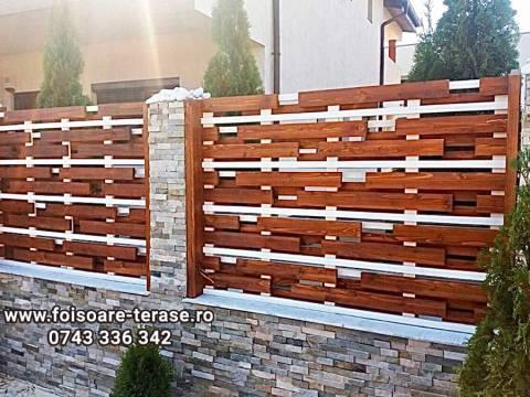 Gard lemn 3