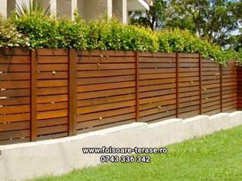 Gard lemn 4