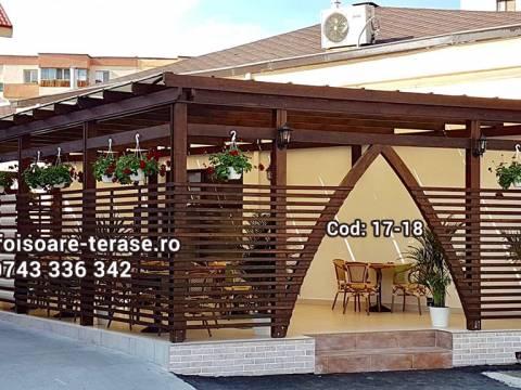 Terase lemn masiv nr 17-18
