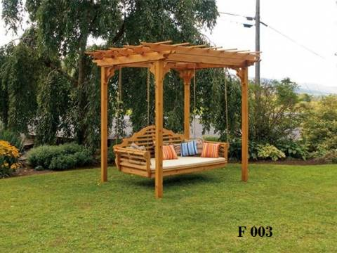 Pergola lemn masiv lemn nr 26