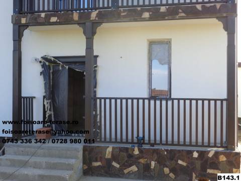 Balcoane lemn nr 14