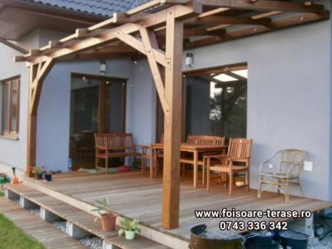 Pergola lemn masiv nr 17-01
